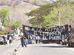 El Sal protest