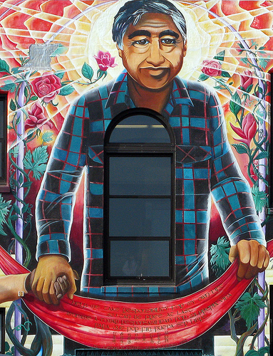 Brother Cesar Mural