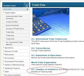 USTR trade data CoC