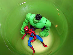 Spiderman v. hulk2