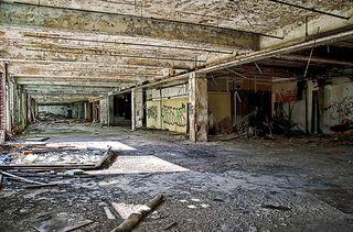Shuttered auto plant