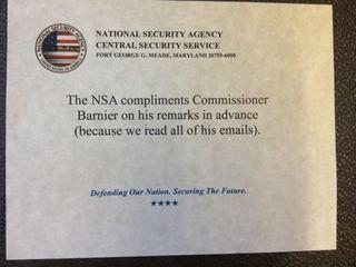 NSA Barnier