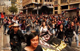 Flickr user Marcha Patriótica Independencia 5