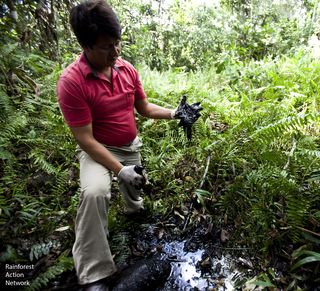 Oil in Amazon