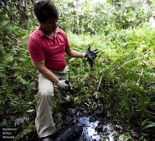 Oil in Amazon
